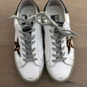 Shoes - Sneakers w leopard Star size 38